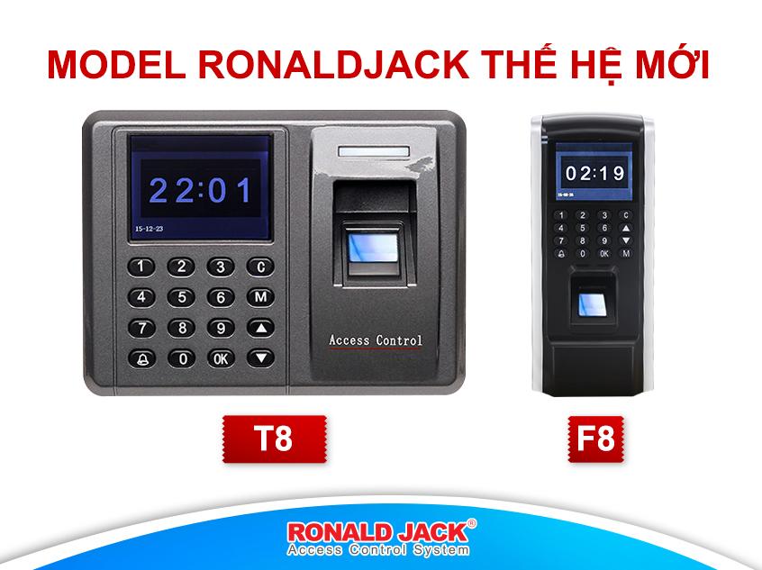 Ronal Jack thương hiệu máy chấm công được ưa chuộng nhất Việt Nam