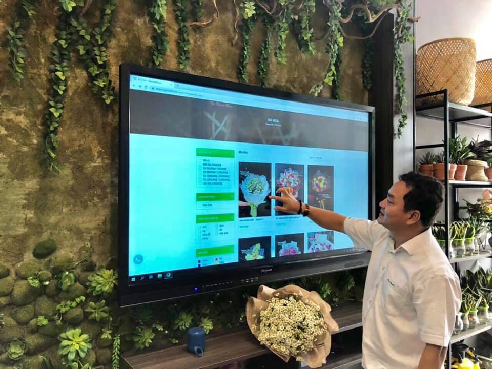 Màn hình tương tác cho Showroom & Shop – Xu hướng cộng nghệ không thể bỏ qua.