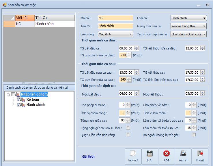 Hướng dẫn sử dụng dữ liệu trên máy chấm công cho bộ phận kế toán