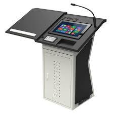 Bục giảng điện tử thông minh – Thiết bị thiết yếu dành cho phòng học và phòng hội nghị thông minh