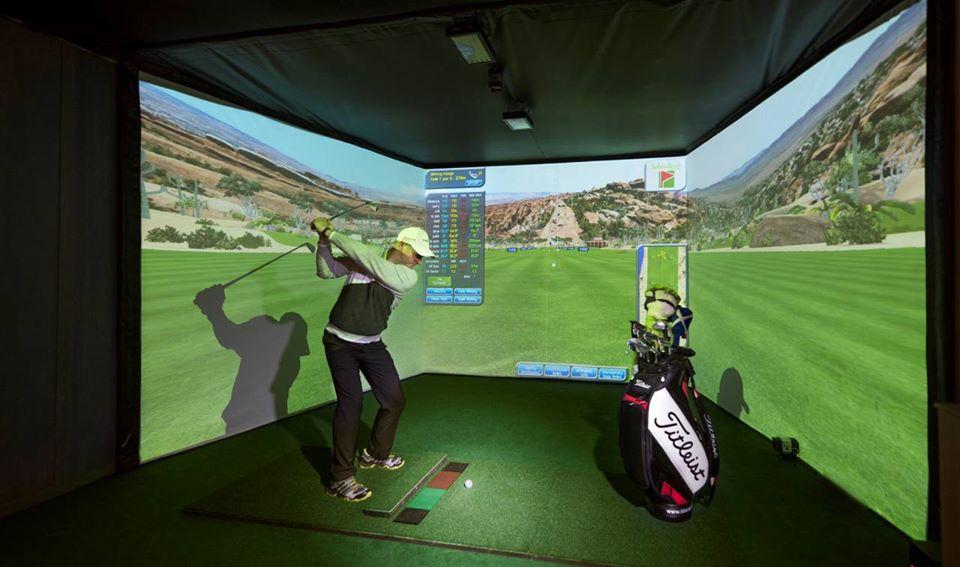 Giải pháp phòng tập Golf 3D – Vivitek tại nhà