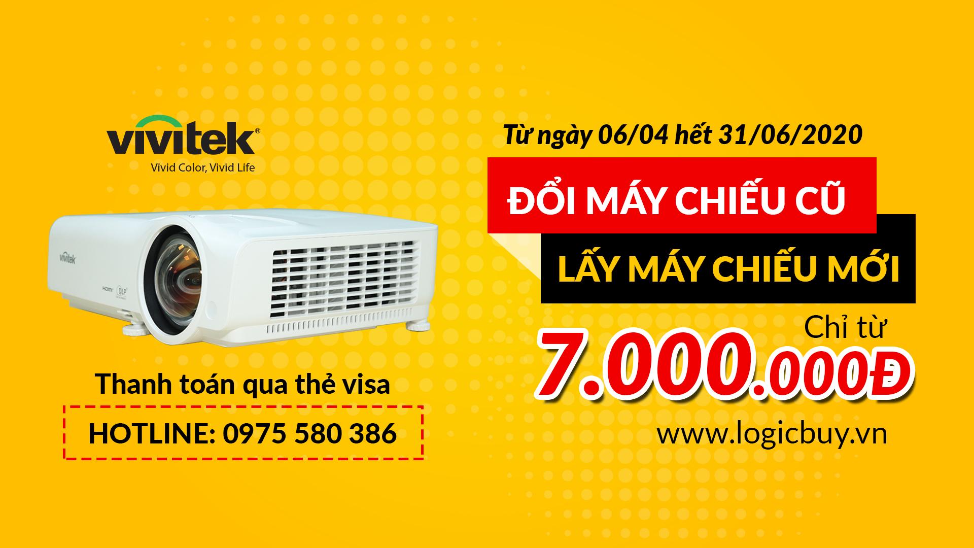 Công ty LogicBUY cùng hãng Vivitek tri ân khách hàng Việt Nam!
