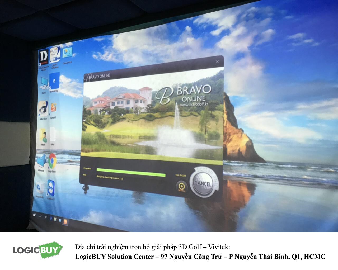 Phòng Golf 3D Vivitek 7