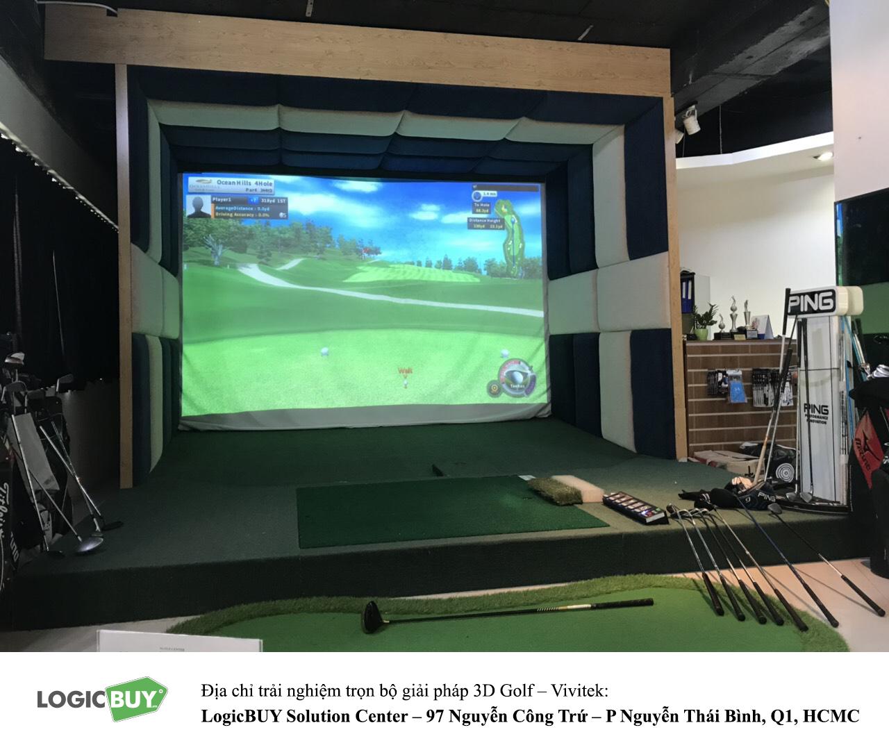 Phòng Golf 3D Vivitek 8