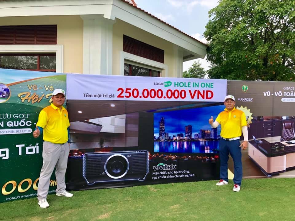 LogicBUY cùng Vivitek đồng hành cùng các giải Golf tại Việt Nam
