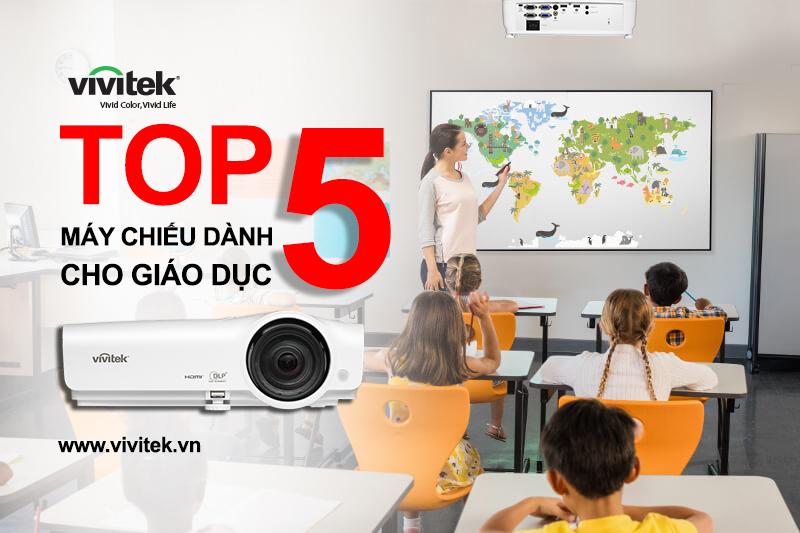 Top 5 máy chiếu Vivitek dành cho giáo dục