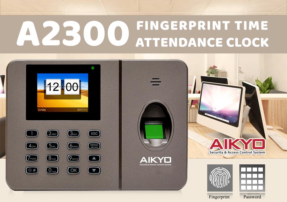 Máy chấm công vân tay Aikyo A2300 – Giải pháp máy chấm công hiện đại