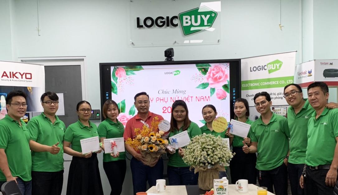 Chúc mừng chị em LogicBUY nhân ngày 20-10-2020