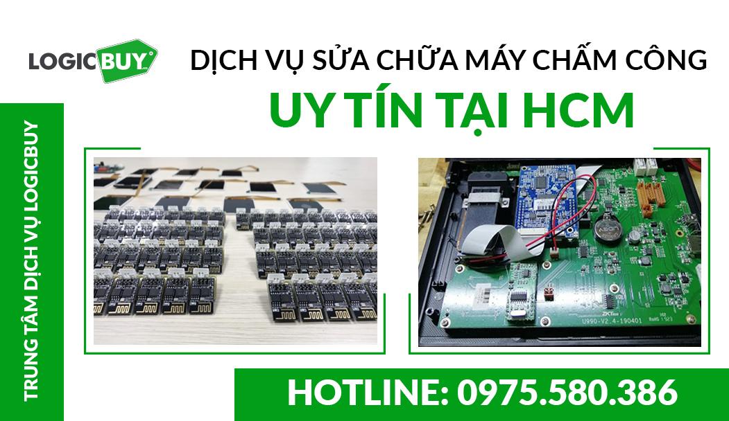Dịch vụ sửa chữa máy chấm công uy tín tại HCM