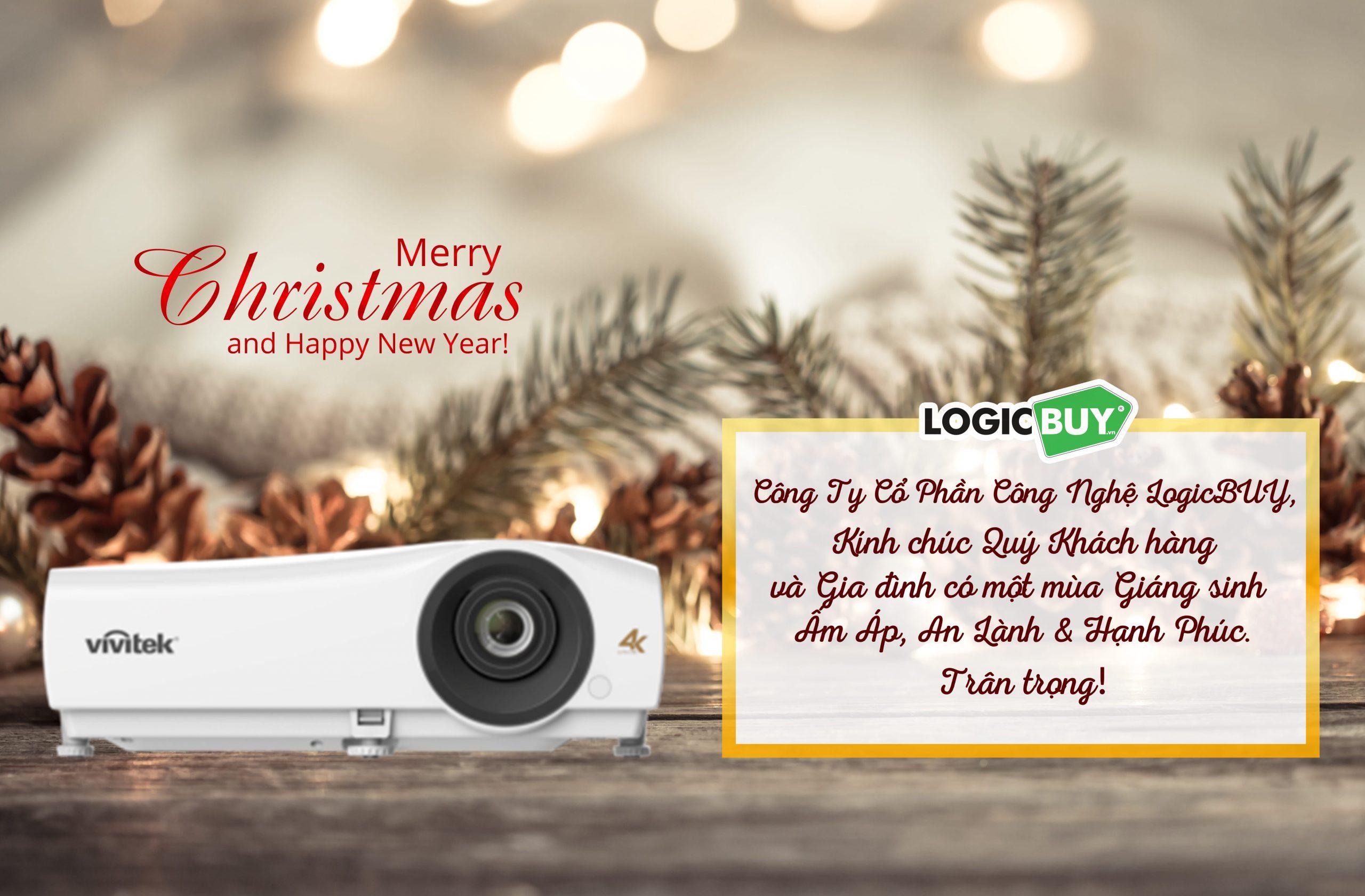 Công ty LogicBUY | Chúc mừng giáng sinh và năm mới 2021