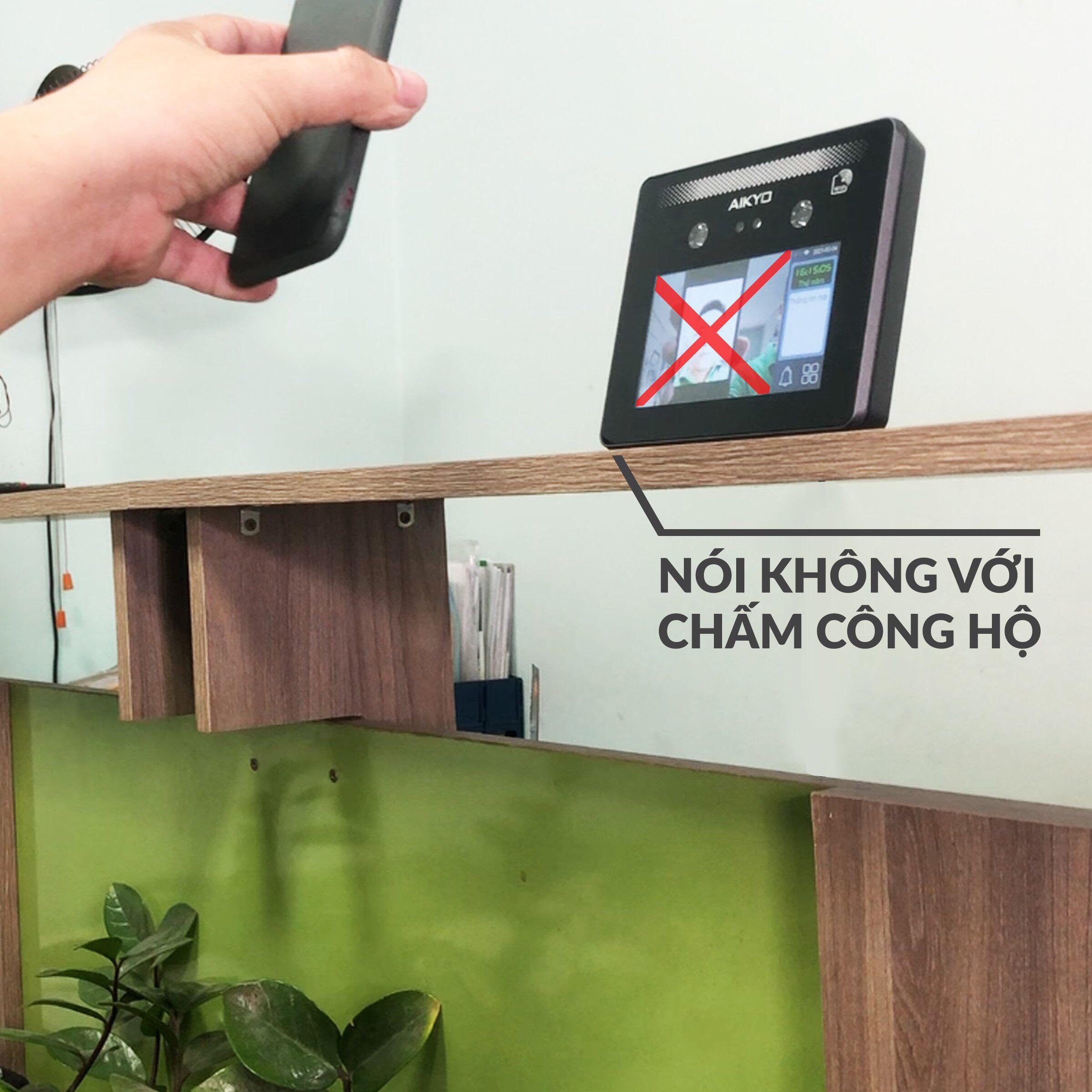 Aikyo Iface nói không với chấm công hộ