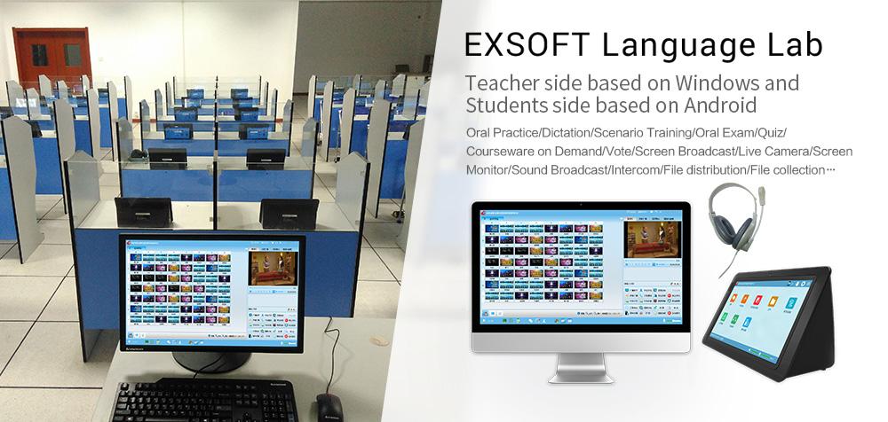 [Phòng học ngoại ngữ đa năng EXSOFT] Hỗ trợ KIỂM TRA trực tuyến nhanh chóng và tiện ích