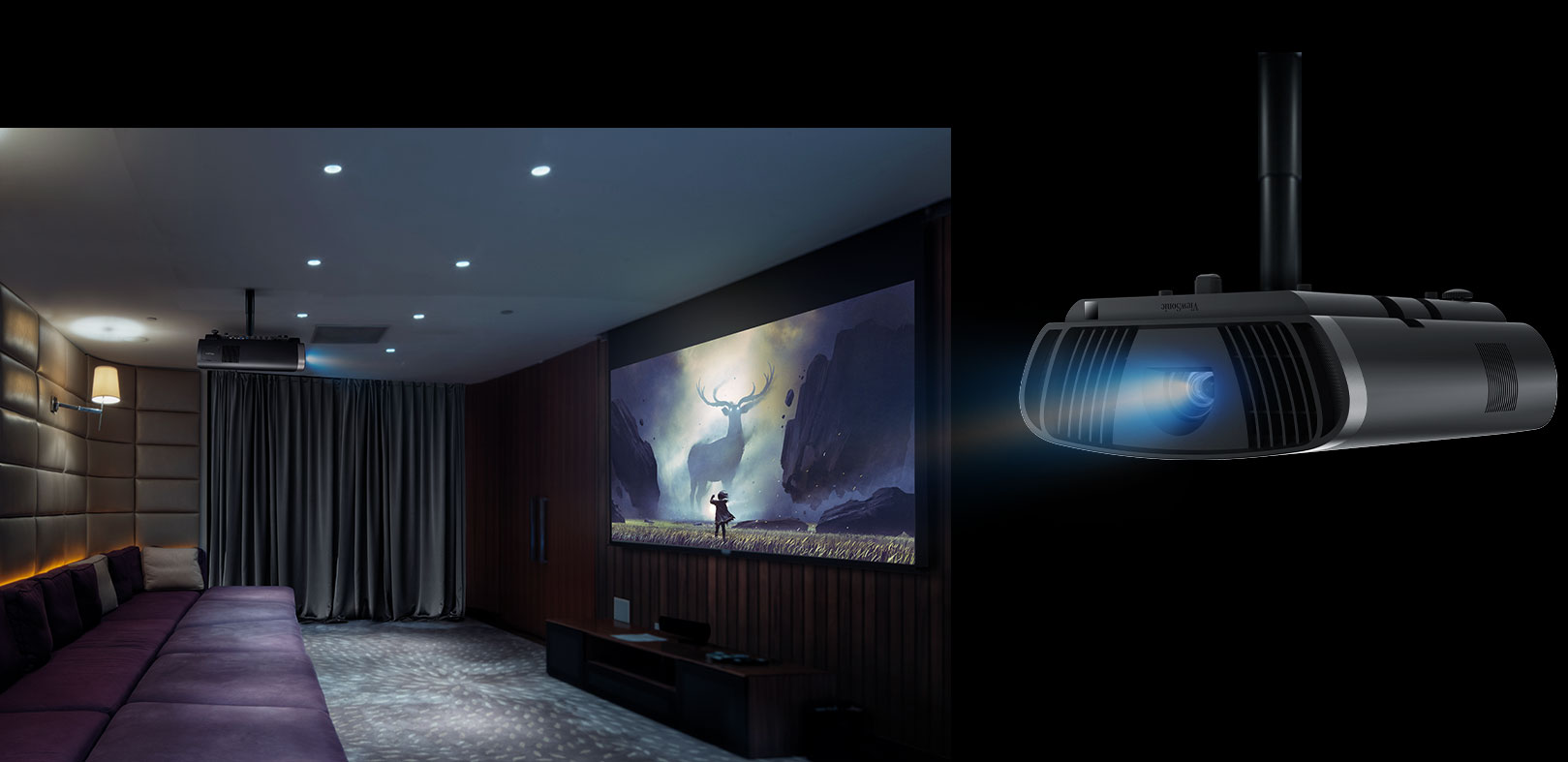 Máy chiếu ViewSonic X100 – 4K+