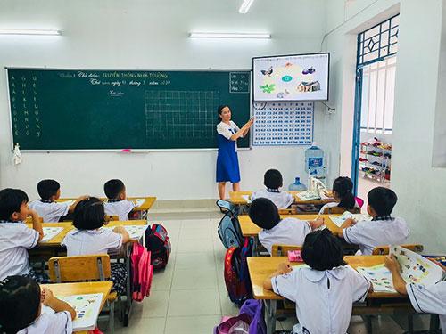Bình Thuận – Học sinh hào hứng, giáo viên tự tin với chương trình mới
