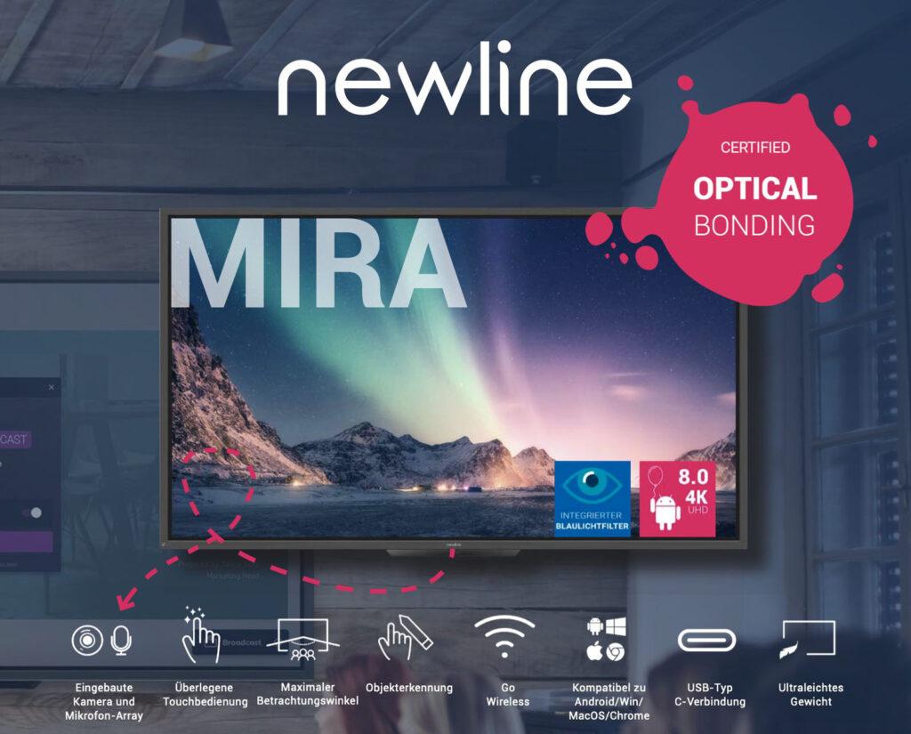 Ra mắt sản phẩm | Màn hình tương tác thông minh Newline Mira