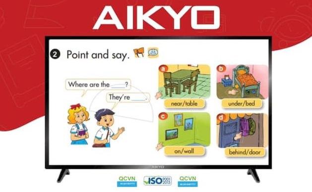 Vì sao AIKYO Smart TV được các trường học lựa chọn?