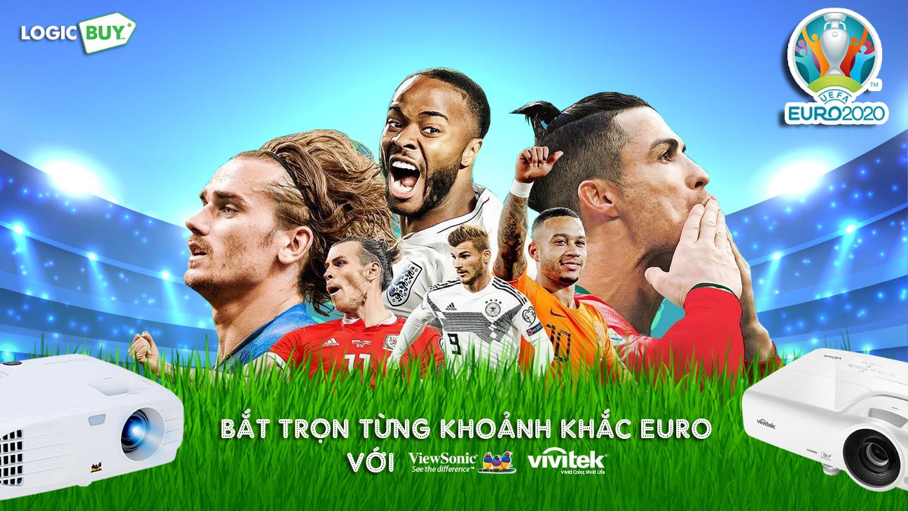 LOGICBUY | Gợi ý máy chiếu xem bóng đá cho mùa Euro