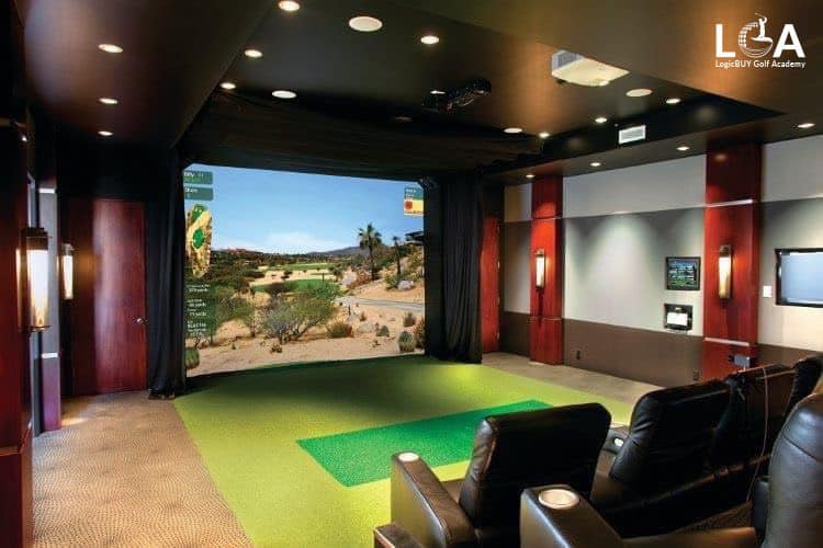 LGA Bàn giao phòng 5D Golf tại Cafe Hoa Viên – Phú Thọ.