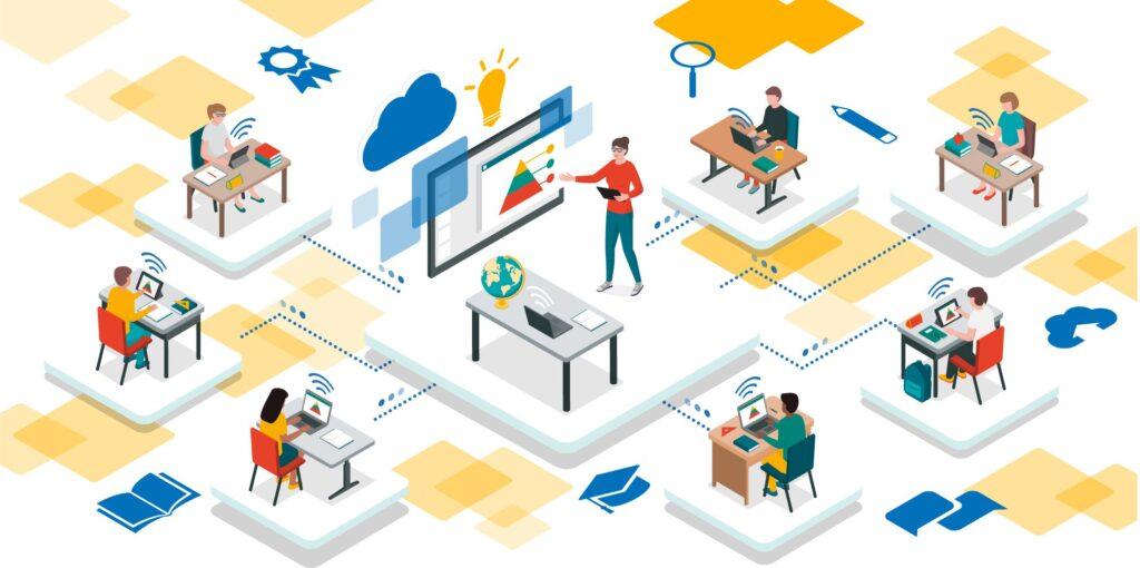 Giải pháp lớp học thông minh – Mô hình ứng dụng tối đa công nghệ trong Giáo dục