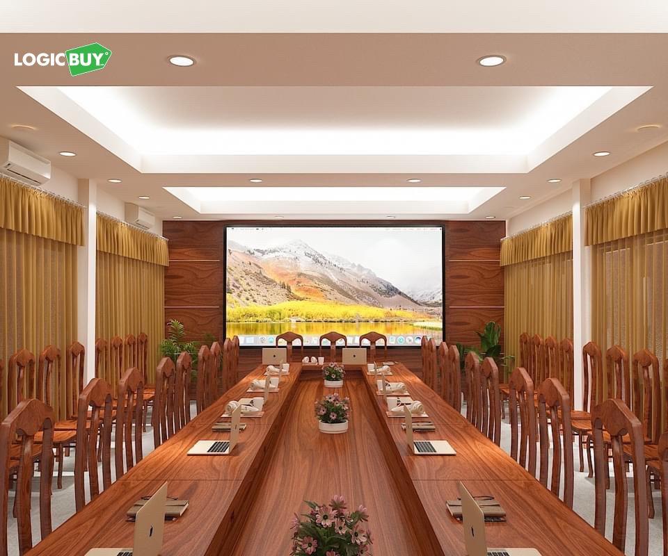 LogicBUY Bàn giao Hệ thống Phòng hội nghị Truyền hình cho Phú Quang Group