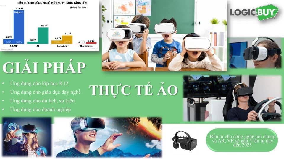 Công nghệ thực tế ảo AR, VR cho giáo dục