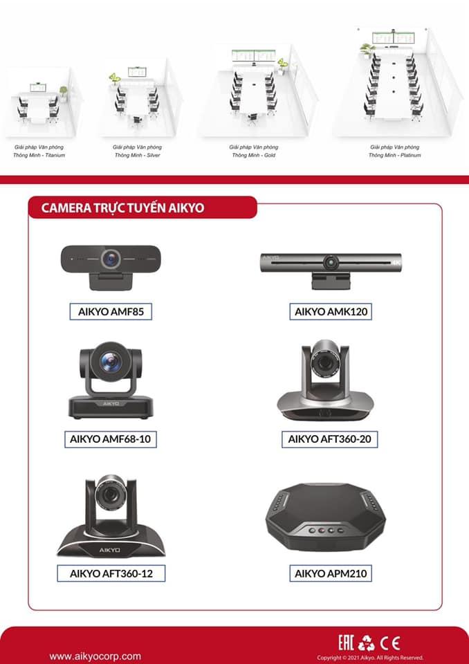 Camera trực tuyến Aikyo cho Đào tạo trực tuyến E-Learning.