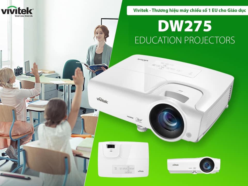 Vì sao máy chiếu lại được sử dụng nhiều tại trường học?