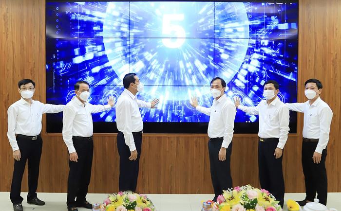 Hà Tĩnh đưa vào vận hành hệ thống giám sát và điều hành thông minh IOC