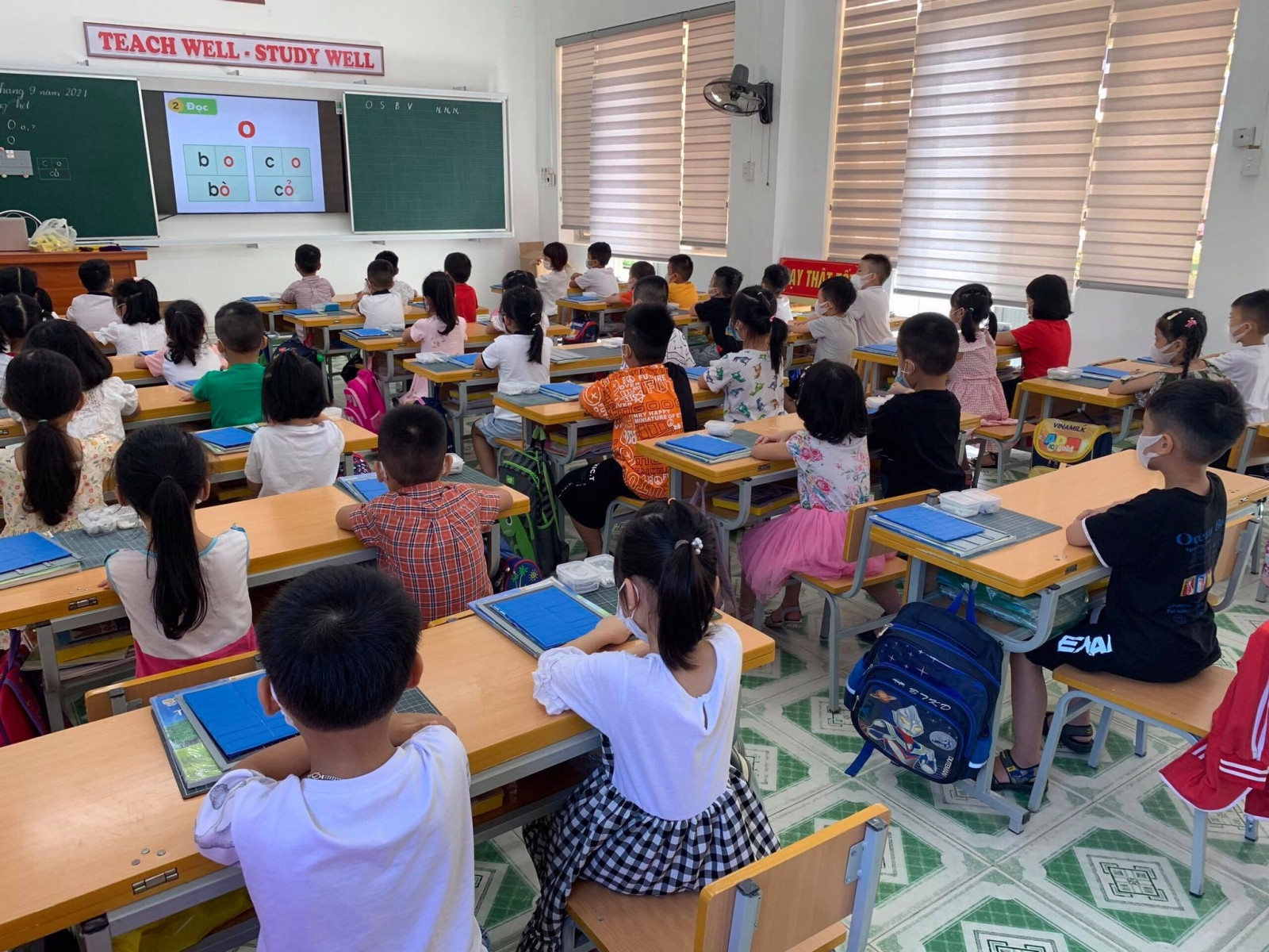 Hướng dẫn điều chỉnh chương trình cấp tiểu học năm học 2021-2022 ứng phó với dịch Covid-19