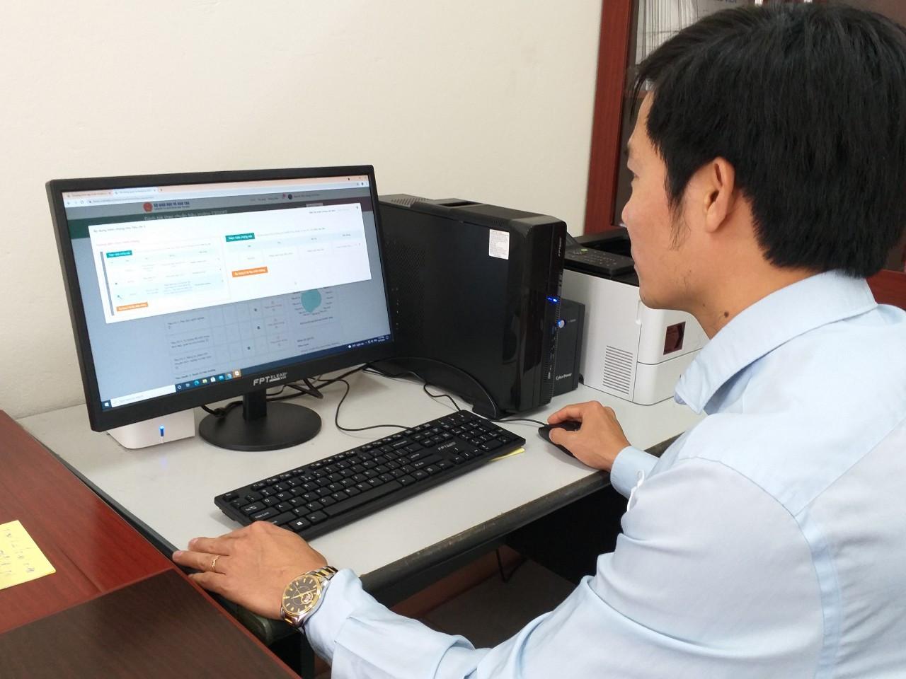 TEMIS góp phần đẩy mạnh chuyển đổi số trong đánh giá cán bộ quản lý, giáo viên
